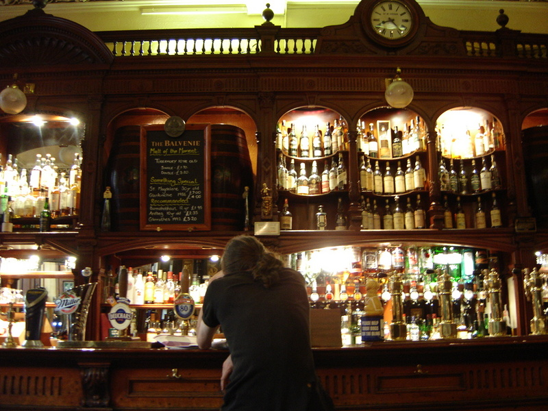 """Scotland Edinburgh Bennet's Bar"" by Frederik Questier & Yanna Van Wesemael"